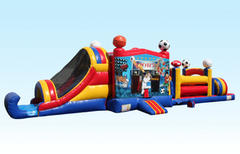 (1) 49ft Sports Combo Obstacle Course