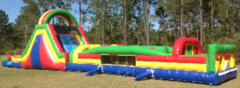 65FT Rainbow Obstacle Course