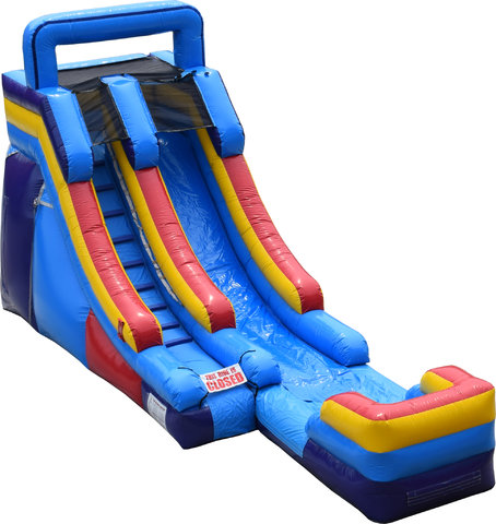 15' Single Lane Dry or Wet Slide