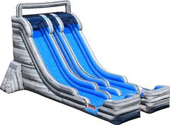 22FT Double Lane Water Slide