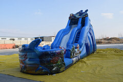 21 FT Shark Water Slide