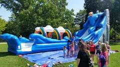 24'ft Niagara Water Slide w/ Slip & Slide.                  FULL DAY RENTAL