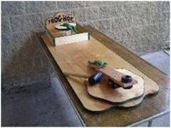 Flip - A - Frog Table Mallet Game