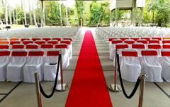 RED CARPETS & STANCHIONS