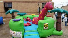 Toddler Inflatables & Kids tables and chairs