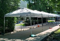 006 White Tent 10 x 10 Canopy