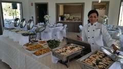 Catering Services for your event $14 per plate including a meat, pasta, vegetables or salad and bread (different menus)