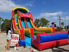 003 Double Lane Slide 35 feet tall 2017