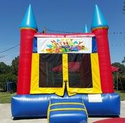 001 Bounce House with Characters (Spiderman, Captain America, Sports, Star Wars, Batman, Super Heroes, Ninja Turtles, Cars, Pokemon, Princess, Frozen, My Little Pony, Hello Kitty, Mickie & Minnie, Mickey Mouse Clubhouse)