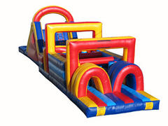001 Obstacle Course 60 feet long with Slide
