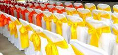 Yellow silk Sashes