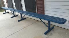 "013 Benches 6"" Blue"
