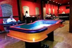 CRAPS TABLES (Minimum three hours)