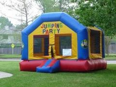 004 Bounce House Package w/tables, chairs & concession