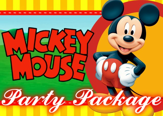 Mickey Party Package