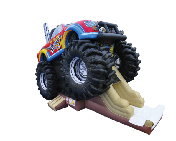 Inflatable Monster Truck Combo