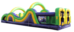 "<strong><span style=""color:#0000ff;"">35ft Radical Run Obstacle Course"