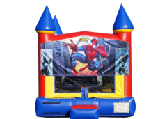 "<strong><span style=""color:#0000ff;"">Spiderman Bounce House"