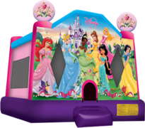 "<strong><span style=""color:#0000ff;"">Disney Princess Bounce House"