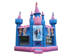 "<strong><span style=""color:#0000ff;"">Frozen Inspired Castle"