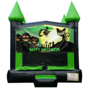 "<strong><span style=""color:#0000ff;"">Halloween Bounce House"