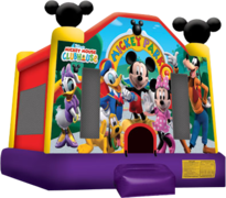 "<strong><span style=""color:#0000ff;"">Mickey Mouse Bounce House"