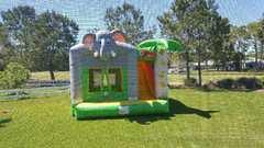 Elephant Bounce house w/ slide
