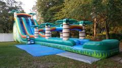 24 ft tropical Rainbow slide