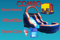 Summer Party Package With 14 foot water slide