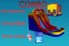 Summer Party Package With 16 Ft Water Slide