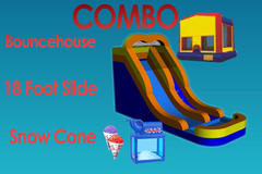 Summer Party Package With 18 Ft Water Slide