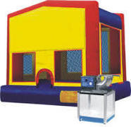 Bounce House and Tasty Treat