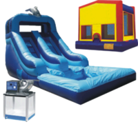 Summer Party Package With 12 ft Water Slide