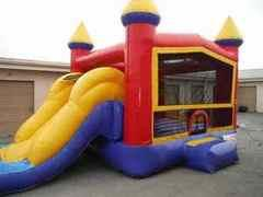 Combo Dry Slide Bounce House (4 in 1)