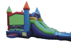 Castle Slide Combo Water Slide