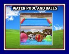 WALKING WATER POOL & BALLS