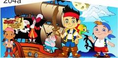 JAKE THE PIRATE BANNER 13X13