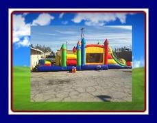 40 FEET FUN COMBO WITH OBSTACLE COURSE
