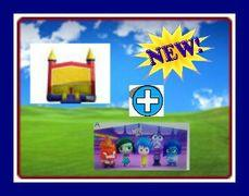 13 X 13 BOUNCE HOUSE WITH INSIDE-OUT THEME