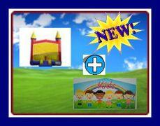 13 X 13 BOUNCE HOUSE WITH KIDS THEME