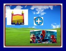 13 X 13 BOUNCE HOUSE WITH SPIDER-MAN THEME