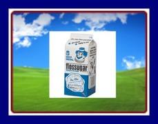 1/2 GAL COTTON CANDY MIX- BLUE