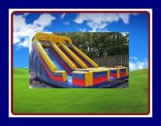 24 FEET DOUBLE DRY SLIDE