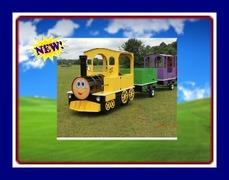 THE BELL EXPRESS TRACKLESS TRAIN