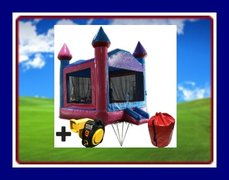 15 x 15 MAGICAL CASTLE BOUNCE HOUSE