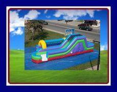 15 FEET WATER SLIP AND SLIDE