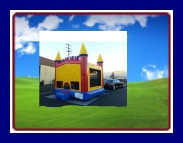 13 X 13 BOUNCE HOUSE WITH MONSTER TRUCK THEME
