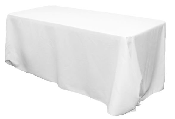 Linen Table Cover Rectangle 90x132