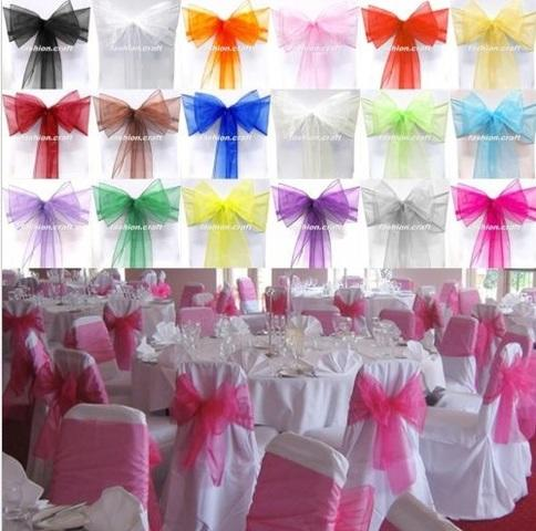 Chair Cover Sash Bow