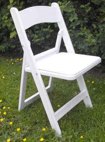 White Padded Chairs